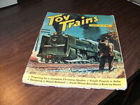 OCTOBER 1952 ISSUE OF TOY TRAINS MAGAZINE