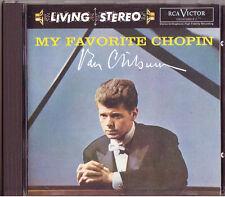 VAN CLIBURN: MY FAVORITE CHOPIN RCA Living Stereo CD Etude Ballade Schzero Waltz