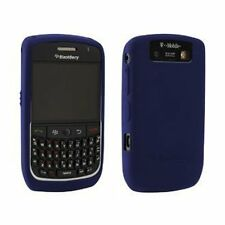 Dark blue SILICONE CASE SKIN COVER for Blackberry Curve 8900 tm091