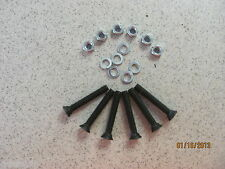 "(6)-- 7/16"" X 2"" PLOW BOLT, PLOW BOLTS, GRADE 5-WE CARRY ALL SIZES"