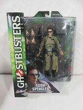 "Egon Spengler Ghostbusters 7"" Deluxe Action Figure & Diorama Diamond Select Nib!"