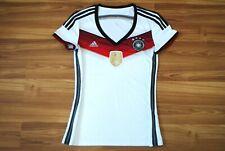 WOMENS MEDIUM GERMANY NATIONAL TEAM 2014/2015 HOME FOOTBALL SHIRT JERSEY TRIKOT