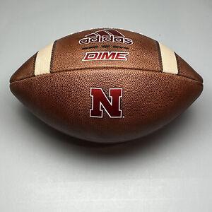 2020 Nebraska Cornhuskers Game Issued Adidas Dime NCAA Football - University B10