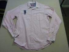 037 WOMENS EX-COND RAER RED / WHT STRIPED EMBROIDERED L/S SHIRT 14 $240 RRP.