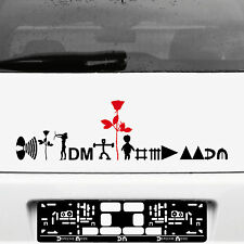 Depeche Mode Tour Auto Heck Aufkleber Tattoo die cut Deko Folie Autoaufkleber