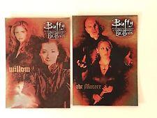 PROMO CARDS: BUFFY THE VAMPIRE SLAYER BIG BADS 2 DIFFERENT #P1 & #P3