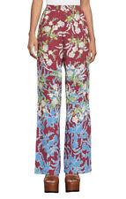 Bcbg max azria New Women's William Floral-Print Flare Pant SZ XXS 100%AUTHENTIC