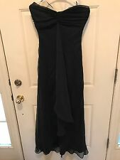Women's Long Black Evening Dress Size 9/ 10