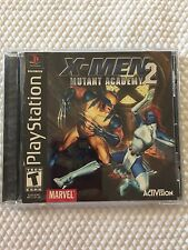 X-Men Mutant Academy 2 ( Sony PlayStation ) ,PS1 , Game W/Case