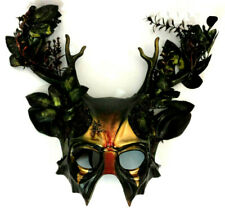 Forest Stag Witch Mask Pagan Wicca Horror Gothic Cosplay Collectible Halloween