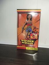 Wonder Woman Barbie 2003 Mattel Dc Rare Limited Edition! Nib