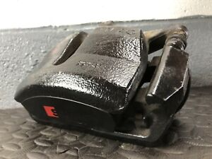 2014 AUDI A3 S3 8V OFFSIDE RIGHT FRONT BRAKE CALIPER COMPLETE WITH CARRIER BLACK