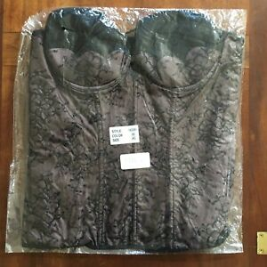 Frederick's of Hollywood Lace Cut Out Corset XL NWT