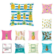 FP- HB- Fashion Pineapple Pattern Throw Pillow Case Sofa Bed Decor Cushion Cover
