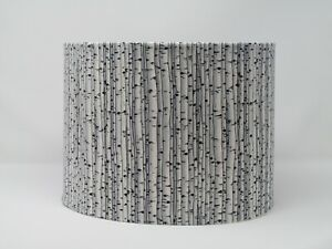 Black White Birch Tree Branches Woods Lampshade Light Shade
