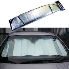 Metallic Auto Sun Shade Windshield Cover Vehicle Protector Aluminum Metallic