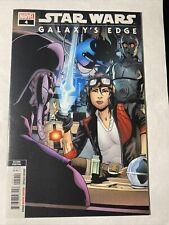 Star Wars Galaxy's Edge Comic Book #4 2nd Print Doctor Aphra Rare Variant Cover