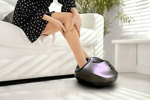 Med-Fit Shiatsu Foot Circulation Massager, Deep Kneading and Compression Therapy