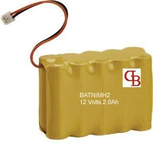 BATNIMH2 Batterie pour HAGER  - 12 Volts 2.0Ah/ 2000 mAh