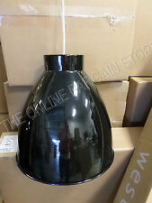 Pottery Barn West Elm Industrial Pendant Chandelier Black Metal Kitchen Light LG