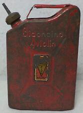 VHTF COLLECTIBLE VTG SAVINELLI  ITALIAN OIL PIPE  LIGHTER FLUID TIN BOX 1930