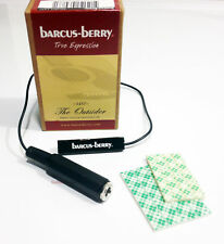 Barcus-Berry 1457 Outsider Piezo Acoustic Guitar Pickup w/1' Cable & Output Jack