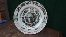 1975 George Thomas Commons Speaker Plate Freedom of Cardiff Panorama Studios