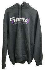 All Hustle Motorsports Pullover Hoodie Sweatshirt - Black