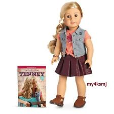 American Girl Tenney Grant Doll and Book friend of Logan doll Fast Shipping