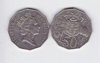 1997  Australia Fifty 50 Cent Coin G-417
