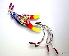 Vintage Jewelry from Daniel Swarovski Paradise Bird Collection BROOCH