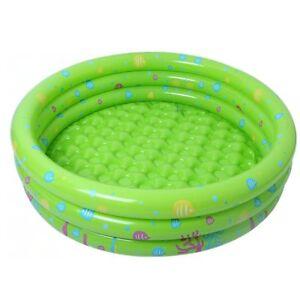 Kids Inflatable Round Swim Pool Thickened Cartoon Portable Baby Summer Water Fun