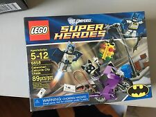 Lego Dc Superheroes Catwoman Catcycle City Chase Batman 6858
