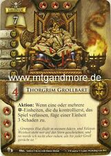 Warhammer invasión - 1x Thorgrim grollbart #002 - leyendas