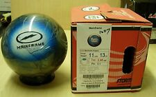11# 13 oz  NIB Storm  2011 MAINFRAME CLEAR Bowling Ball, never drilled