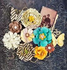 Prima Timeless Memories Flower Embellishments Nostalgia  580889 2015