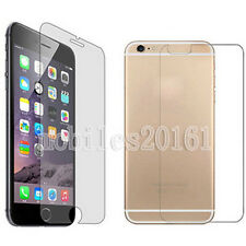 Front And Back Clear Film Protector Screen Guarder Cover For Apple iPhone 6