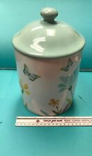 Target Home Stoneware Butterfly cookie jar (pre owned)
