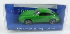Porsche 911 grün 1994 Euromodel 1:87 H0 OVP [HB8-D5]