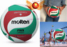 Molten Size5 PU Leather Volleyball Official v5m5000 Soft IndoorOutdoor Game Ball