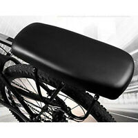 Waterproof Bicycle Mountain Bike Back Seat Leather Soft Rear Seat Cushion Mat