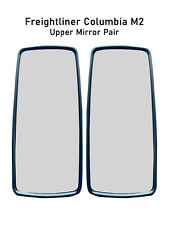 Freightliner Columbia M2 Chrome Mirror Glass Heated Left Right Pair 2010 2016
