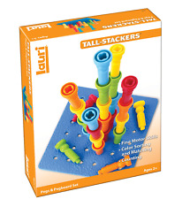 Lauri Tall-Stackers - Pegs and Pegboard Set 2444