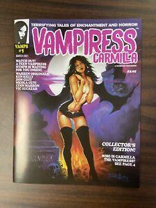 Vampiress Carmilla #1 Magazine March 2021 Warrant Publishing