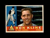 1960 Topps Baseball #197 Ron Kline (Cardinals) EXMT