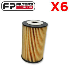 6 x WCO115 Wesfil Oil Filter - Hyundai i30, i40, Kia Rondo - R2695P, 263203C30A
