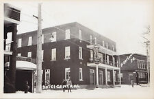 Hôtel Central TERREBONNE Quebec Canada 1940s Carte Photo Real Photo Postcard