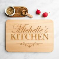 Personalised Wooden Kitchen Chopping Board | Anniversary Gifts | Wedding Gifts