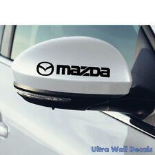 2 x MAZDA Aufkleber für rückspiegel Sticker Tattoo Autoaufkleber CX MX 3 5 6