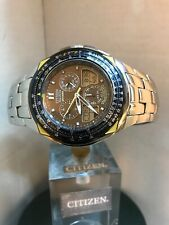 Citizen Men's blue angels SKYHAWK Eco Drive Chronograph ANA DIGI Bracelet Watch
